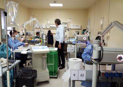 Curso teórico-práctico de cirugía de oído medio y disección de hueso temporal. Abril 2013
