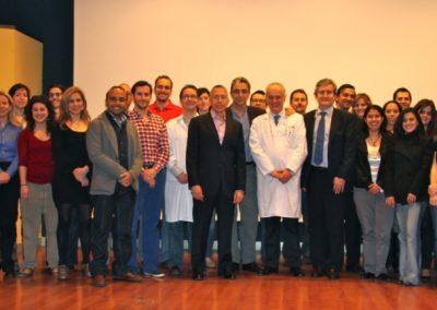 Curso teórico-práctico de cirugía de oído medio y disección de hueso temporal. Marzo 2012